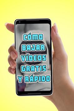 Bajar Videos Gratis y Rápido al Celular Manual apk screenshot