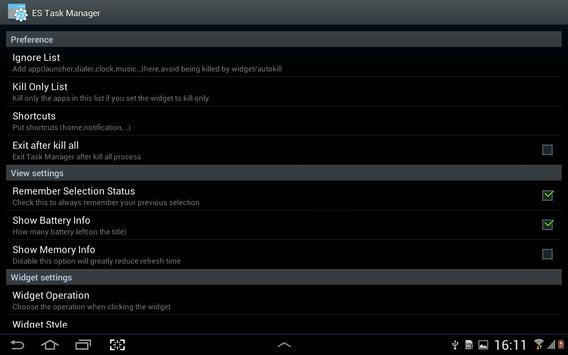 ES Task Manager (Task Killer ) APK-screenhot