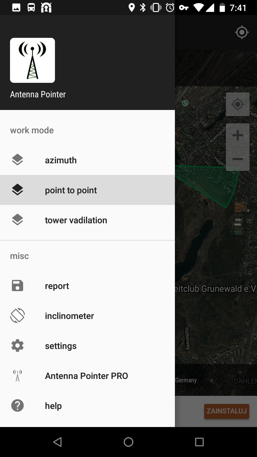 antenna pointer pro apk