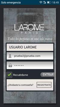 Distribuidores LAROME poster
