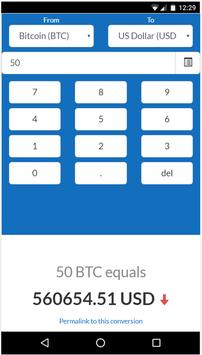 Crypto Exchange Calculator poster
