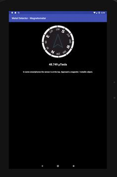 Metal Detector - Magnetometer screenshot 4