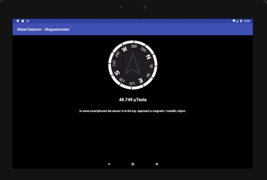 Metal Detector - Magnetometer screenshot 1