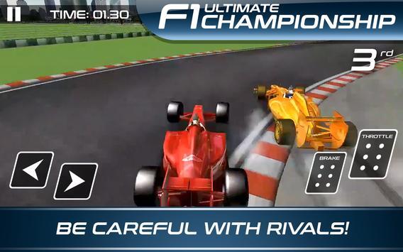Ultimate F1 Racing Championship تصوير الشاشة 7