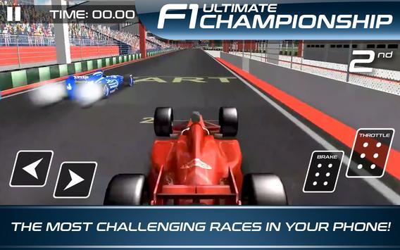 Ultimate F1 Racing Championship تصوير الشاشة 6