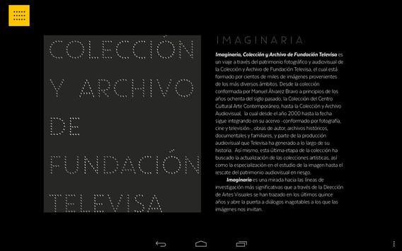 Imaginaria Fundación Televisa screenshot 5
