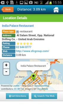 Abu Dhabi Guide Hotels Weather screenshot 4