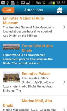 Abu Dhabi Guide Hotels Weather screenshot 6