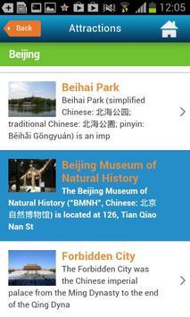 Beijing Guide Hotels & Weather screenshot 6