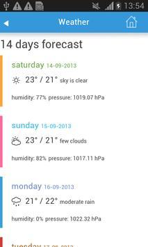 Cairo Guide Map Hotel Weather screenshot 2