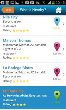 Cairo Guide Map Hotel Weather screenshot 3