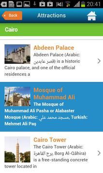 Cairo Guide Map Hotel Weather screenshot 7