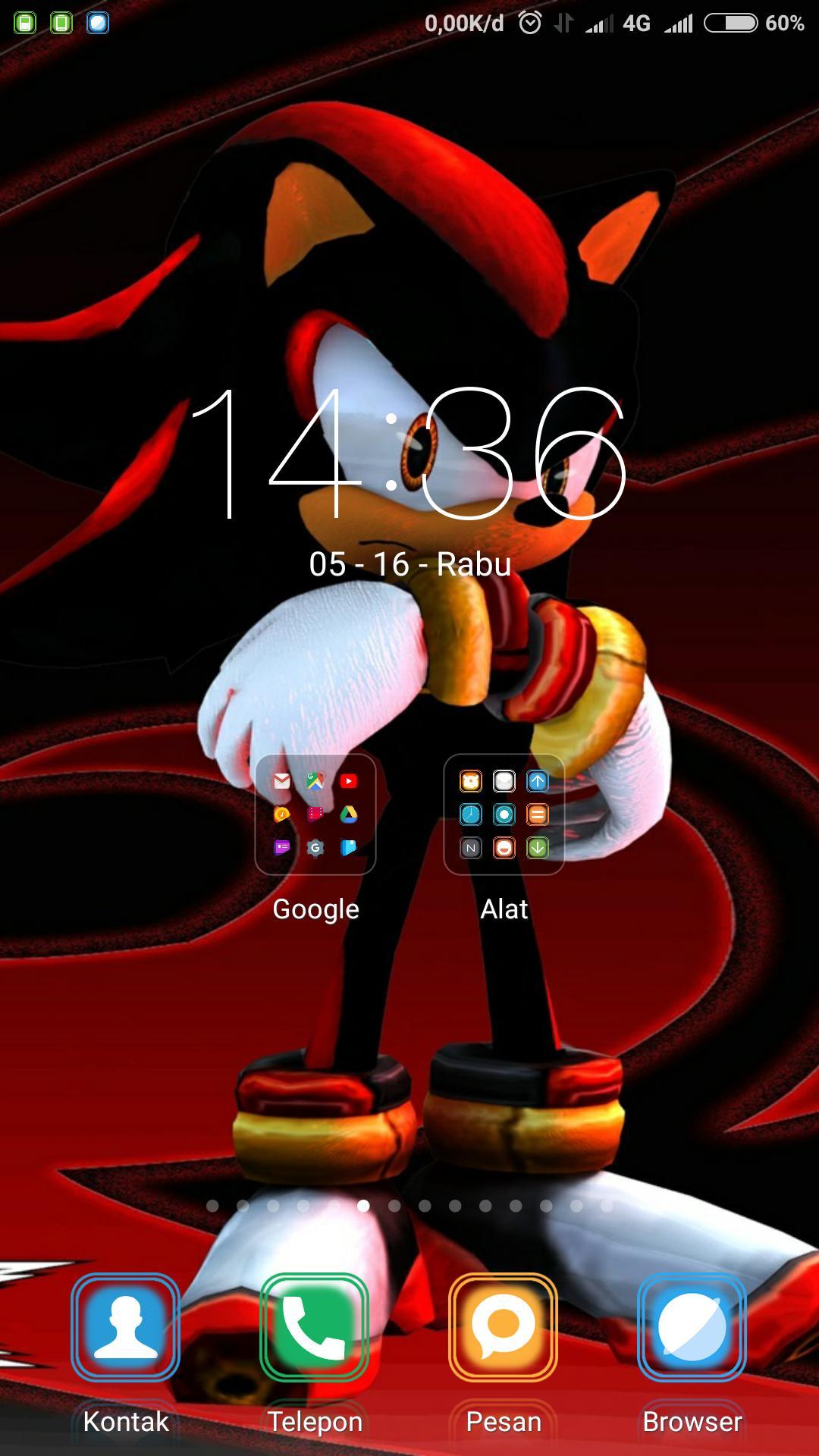 Android 用の Shadow Hedgehog Art Wallpaper Apk をダウンロード