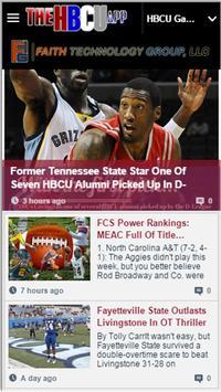 The HBCU App apk screenshot