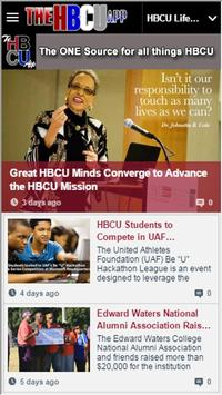 The HBCU App poster