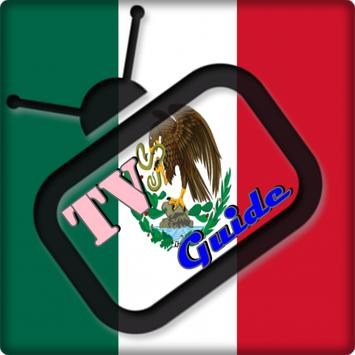 TV Mexico  Guide Free screenshot 1