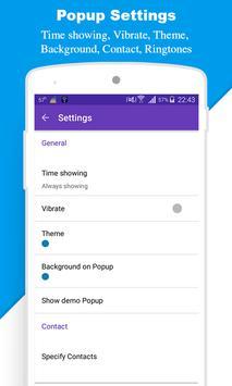 Popup SMS - SMS Notification apk screenshot