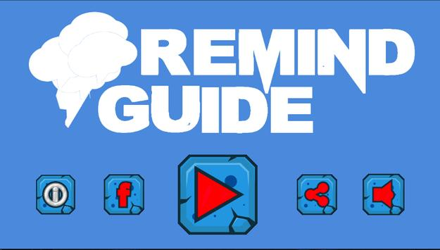Guide For Remind poster