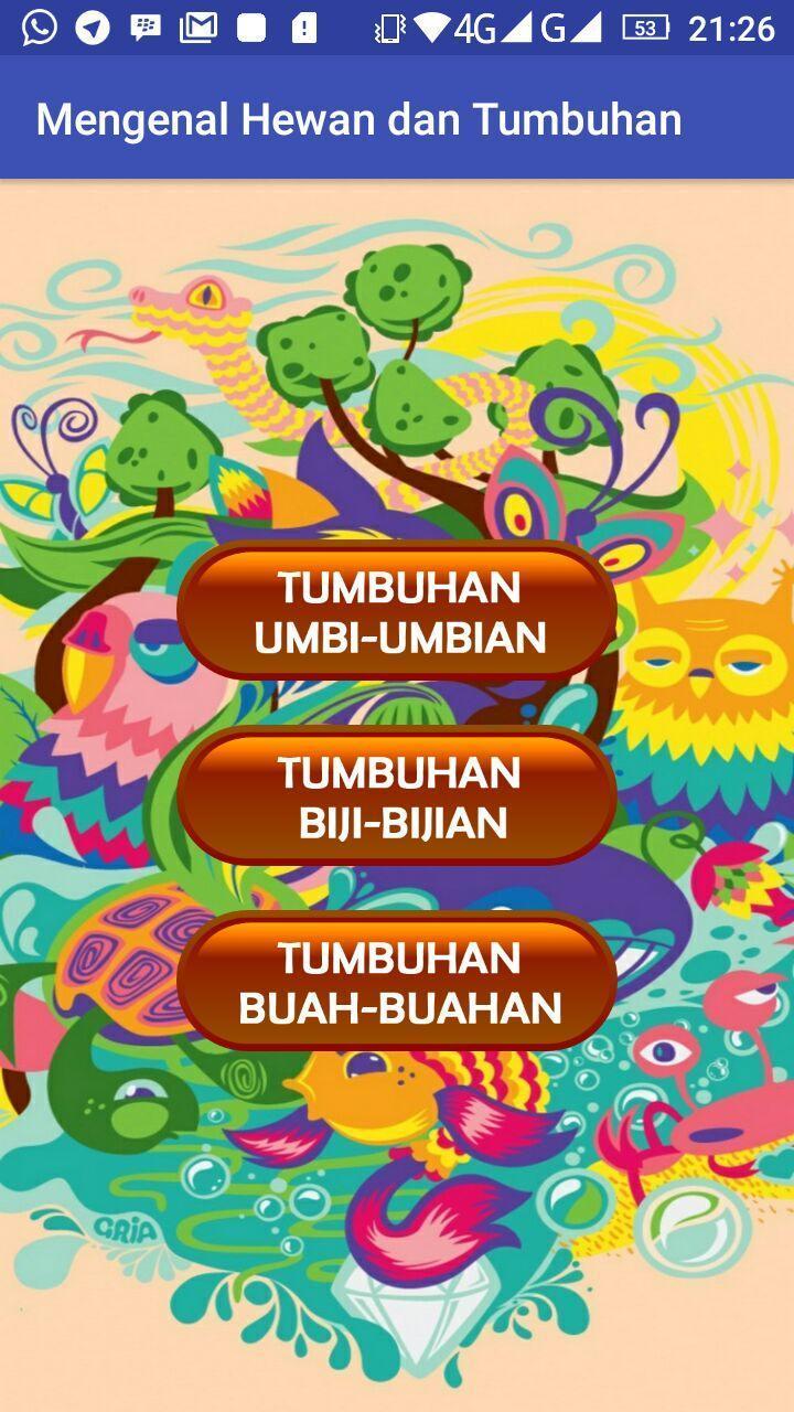 Mengenal Hewan Dan Tumbuhan For Android APK Download