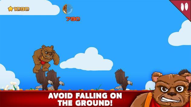 Grizzly Bear VS Eagles apk screenshot