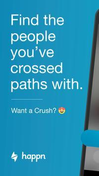 happn – Local dating app poster