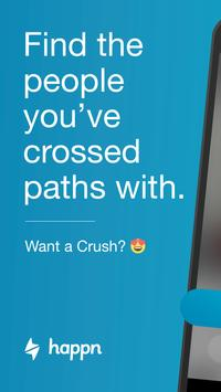 happn – Local dating app poster