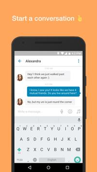 happn — App de paquera apk imagem de tela