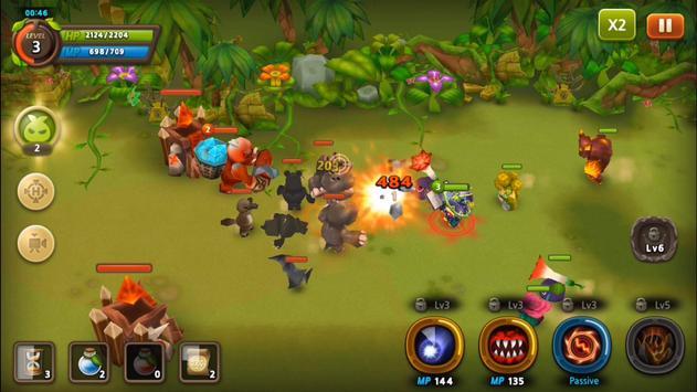 Plants War 2 apk screenshot