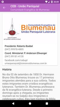 Luteranos Blumenau screenshot 2