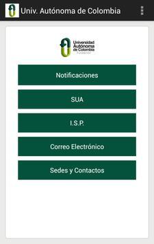 Univ. Autónoma de Colombia poster