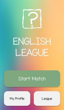 English League poster