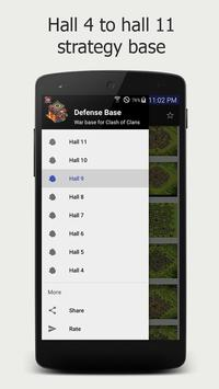 Strategies Maps for Clash of Clans apk screenshot
