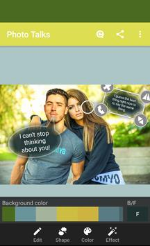 Photo talks: speech bubbles screenshot 5