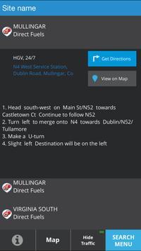 e-route Direct Fuels screenshot 3