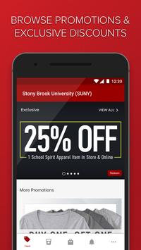 Stony Brook Shop Red poster