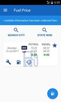 Fuel Price Daily screenshot 2