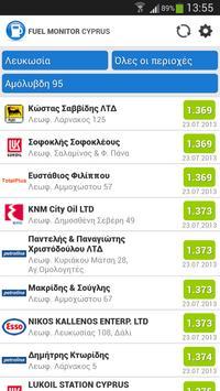 Cyprus Fuel Monitor screenshot 1