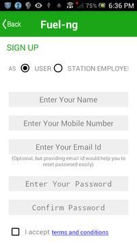 Fuel-ng Fuel Finder screenshot 1