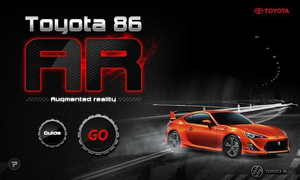 Toyota 86 AR poster