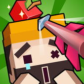 Apple Shooter 3D Pixel icon