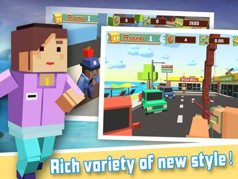Apple Shooter 3D Pixel screenshot 12