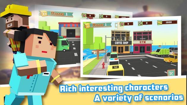 Apple Shooter 3D Pixel screenshot 1