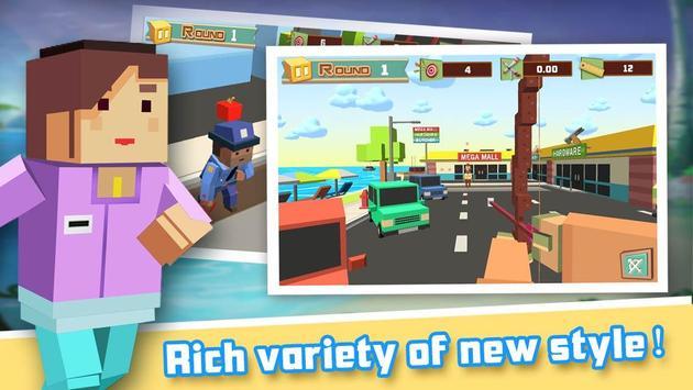 Apple Shooter 3D Pixel screenshot 3