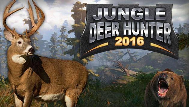 Jungle Deer Hunter 2016 poster