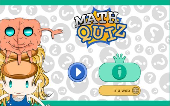 math quiz apk screenshot