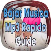 Bajar Música mp3 Rápido y Gratis Guía Fácil icon
