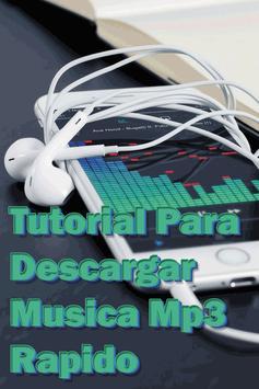 Bajar Música mp3 Rápido y Gratis Guía Fácil apk screenshot