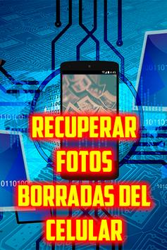 Recuperar Fotos Borradas del Celular Guide Gratis screenshot 1
