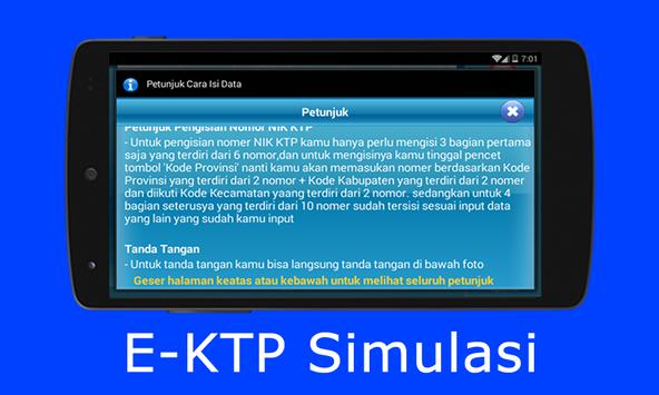 E-KTP Simulasi = Bikin KTP Elektronik Sendiri screenshot 5
