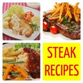 Steak Recipe Fish Chicken Beef icon